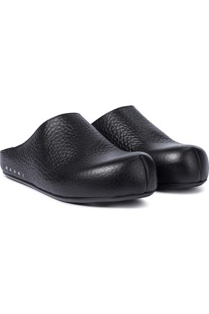 Marni Dame Loafers - Sabot leather slippers