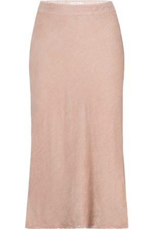 Velvet Taelyn midi skirt