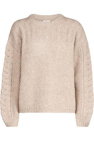 Velvet Maree alpaca-blend sweater