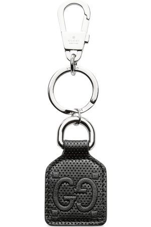 Gucci GG embossed keychain