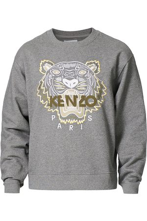 Kenzo Tiger Crew Neck Sweatshirt Dove Grey