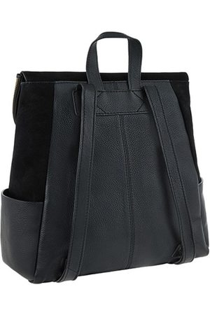 Accessorize Ryggsekker - Black Leather Isabel Zip F Acc Bags Bags Day