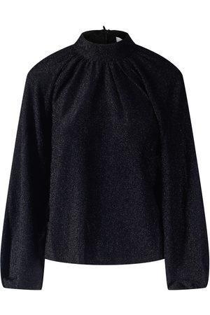 NA-KD Glitter High Neck Sweater
