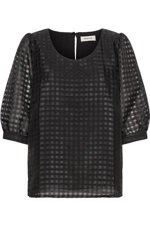 Modstrom Dame Kortermede - Genzi Top Blouses Short-sleeved