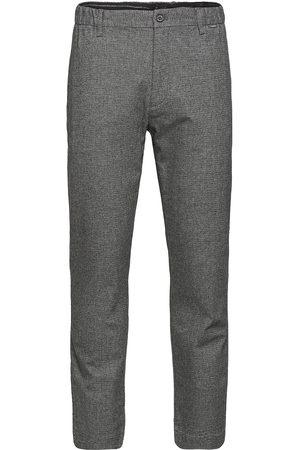 Calvin Klein Tapered Elastic Texture Pant Dressbukser Formelle Bukser