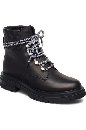 Shoe The Bear Dame Skoletter - Stb-Franka Lace L Shoes Boots Ankle Boots Ankle Boot - Flat
