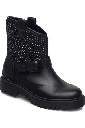 Guess Orica/Stivaletto /Leat Shoes Boots Ankle Boots Ankle Boot - Flat