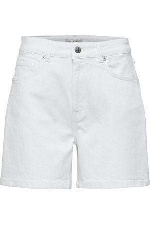 Selected Mid waist Denim shorts