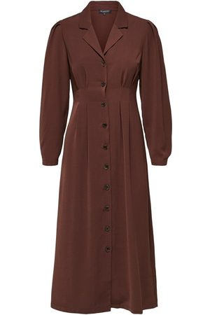 Selected Maxi dress Pleated