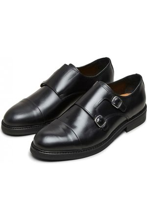 Selected Filip Leather Monk Shoe Selected