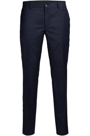 Jack & Jones Trousers Wool blend Flecked