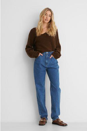 NA-KD Økologiske Mom Jeans