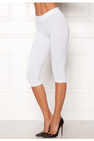 Happy Holly Sofia capri leggings White 44/46