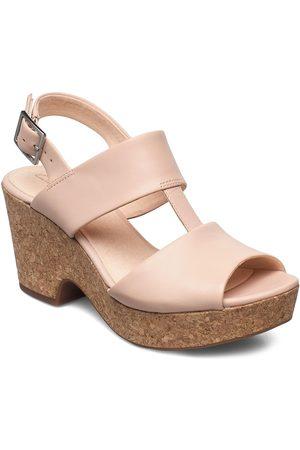 Clarks Maritsa Glad Sandal Med Hæl