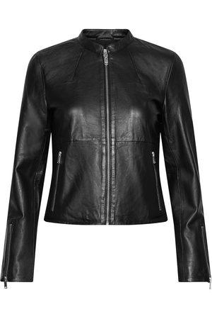 Selected Slfibi Leather Jacket B Noos Skinnjakke Skinnjakke