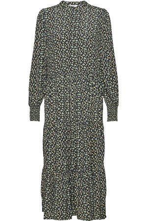 Envii Endowning Ls Ma Dress Aop 6257 Maxikjole Festkjole Multi/mønstret