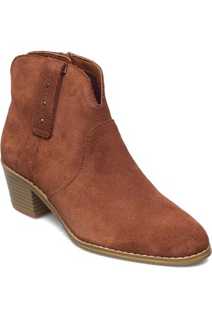 Clarks Dame Skoletter - Breccan Valley Shoes Boots Ankle Boots Ankle Boot - Heel