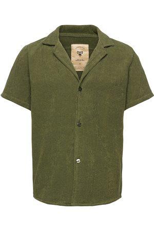 Oas Herre Kortermede - Army Cuba Terry Shirt Kortermet Skjorte