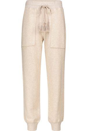 ULLA JOHNSON Dame Bukser - Charley cotton knit trackpants