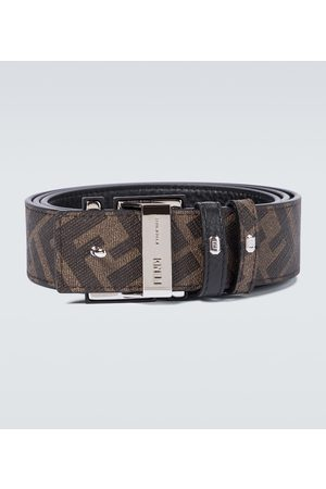 Fendi Herre Belter - Reversible leather FF buckle belt