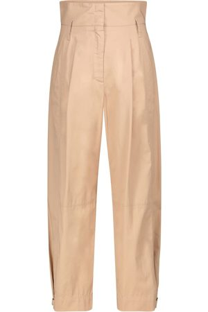 Dorothee Schumacher Dame Bukser - Sporty Power cotton pants