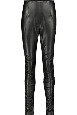 Dorothee Schumacher Dame Skinnbukser - Sleek Performance faux leather skinny pants