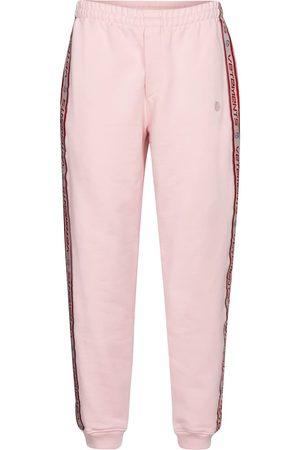 Vetements Dame Joggebukser - Logo cotton-blend jersey trackpants