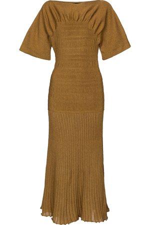 Proenza Schouler Smocked knit midi dress