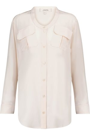 Dorothee Schumacher Fluid Volumes silk crêpe blouse