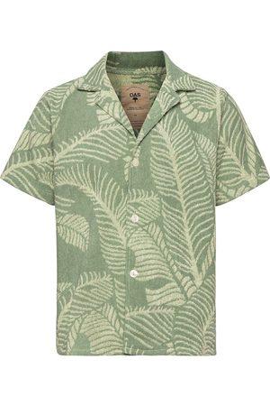 Oas Banana Leaf Terry Shirt Kortermet Skjorte