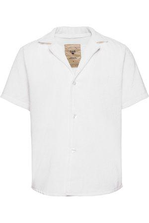 Oas White Cuba Terry Shirt Kortermet Skjorte