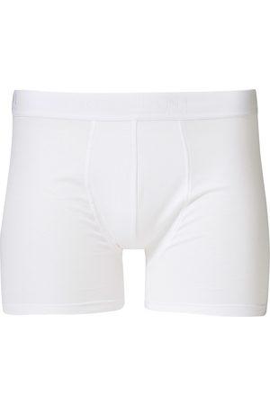 Bresciani Cotton Boxer Trunk White