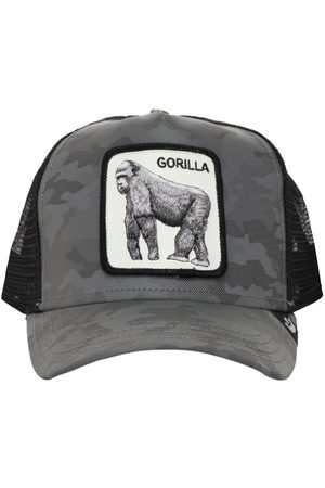 Goorin Bros. Reflective Gorilla Trucker Hat W/patch
