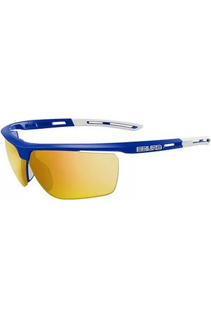 Salice Solbriller 019 CRX with Bronze Lens BLU/RW GIALLO