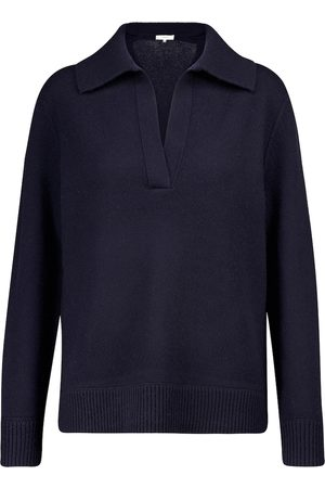 Vince Wool and cashmere polo sweater