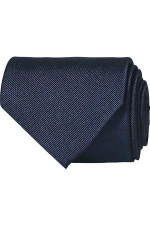 Amanda Christensen Plain Classic Tie 8 cm Navy