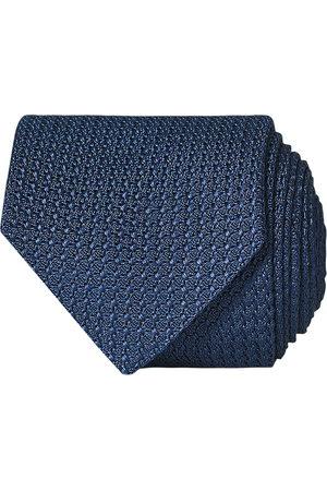 Amanda Christensen Herre Slips - Silk Grenadine 8 cm Tie Napoli Blue