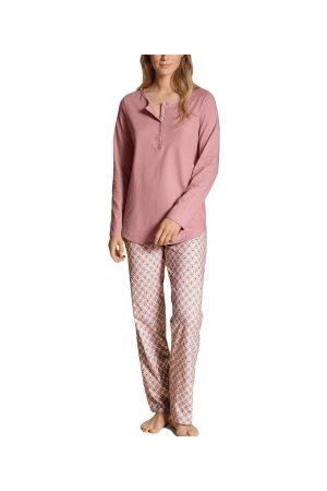 Calida Dame Pyjamaser - Calida Lovely Nights Pyjama Button Tab