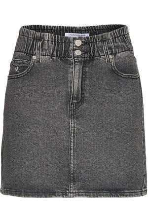 Calvin Klein High Rise Mini Skirt Kort Skjørt