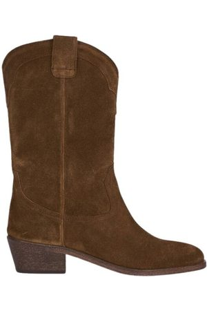 ANTHOLOGY PARIS Dame Cowboy boots - Welson suede leather boots