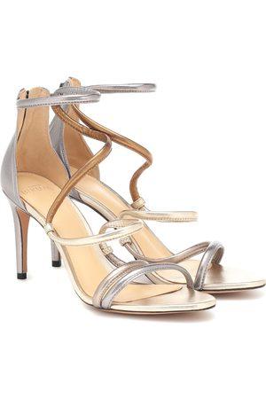 ALEXANDRE BIRMAN Gianny 100 metallic leather sandals
