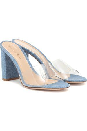 Gianvito Rossi Exclusive to Mytheresa – Vivienne 85 denim sandals