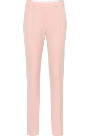 Stella McCartney Mid-rise wool slim pants
