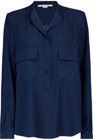 Stella McCartney Estelle silk crêpe de chine blouse