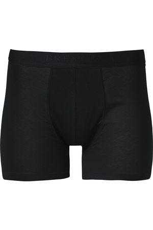 Bresciani Cotton Boxer Trunk Black