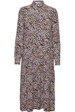 Six Ames Dame Mønstrede kjoler - Coleen Knelang Kjole Multi/mønstret