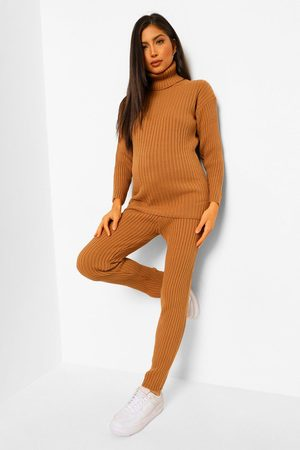 Boohoo Maternity Jumper And Legging Knitted Rib Co-Ord