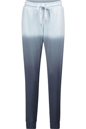 The Upside Alena cotton jersey trackpants
