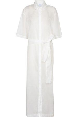 SIR Alina cotton and linen maxi dress