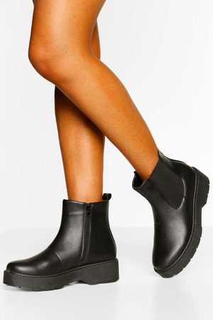 Boohoo Platform Chunky Chelsea Boots